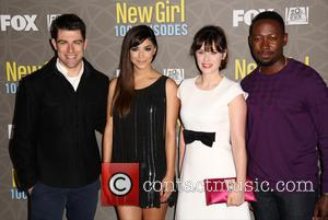 Hannah Simone, Max Greenfield, Zooey Deschanel and Lamorne Morris
