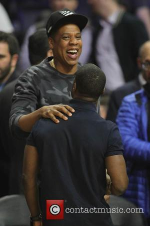 Jay Z and Kevin Hart