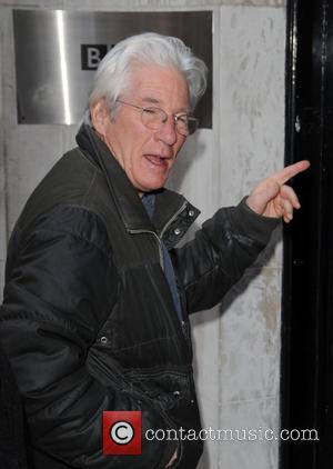 Richard Gere - Richard Gere at BBC Radio 2 - London, United Kingdom - Thursday 3rd March 2016
