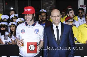 Sacha Baron and Mark Strong