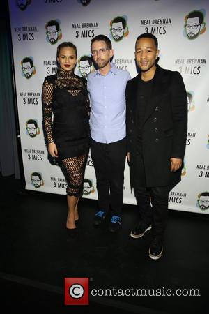 Chrissy Teigan, Neal Brennen and John Legend