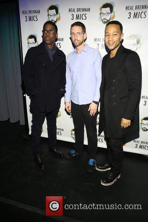 Chris Rock, Neal Brennen and John Legend