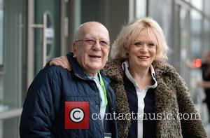 Roy Barraclough and Sherrie Hewson