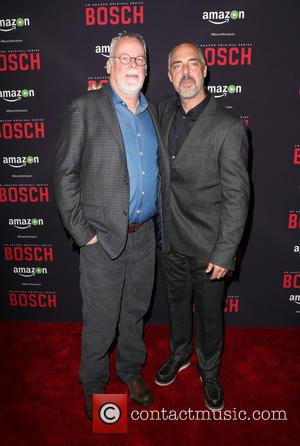 Michael Connelly and Titus Welliver