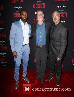 Jamie Hector, Michael Connelly and Titus Welliver