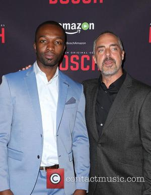 Jamie Hector and Titus Welliver