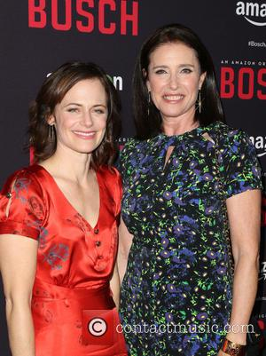 Sarah Clarke and Mimi Rogers