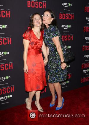 Sarah Clarke and Mimi Rogers