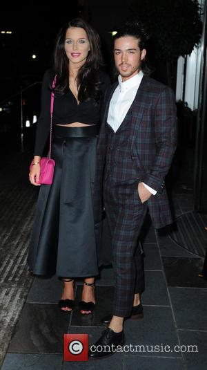 Helen Flanagan - Celebrities arrive at The Lowry Hotel Manchester for the Annual Mirror Ball. at The Lowry - Manchester,...