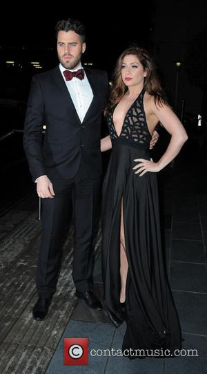 Nikki Sanderson , Greg Whitehurst - Celebrities arrive at The Lowry Hotel Manchester for the Annual Mirror Ball. at The...