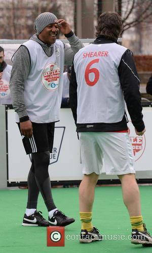 John Bishop and Dion Dublin