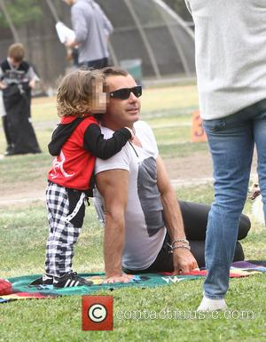 Gavin Rossdale and Apollo Rossdale