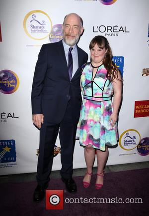 J.k. Simmons and Jamie Brewer