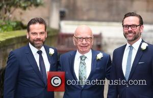 Lachlan Murdoch, Rupert Murdoch and James Murdoch