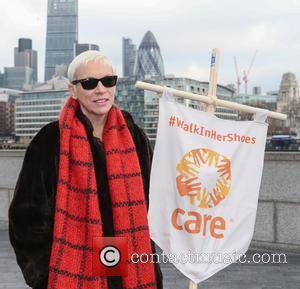 Annie Lennox - International Women's Day 'Walk In Her Shoes' March - London, United Kingdom - Sunday 6th March 2016