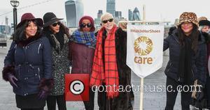 Sister Sledge, Joni Sledge, Debbie Sledge, Kim Sledge and Annie Lennox