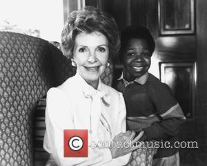 Nancy Reagan, Nancy Davis and Gary Coleman