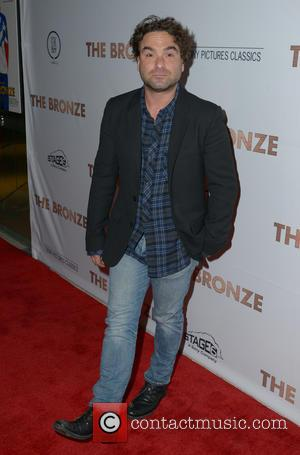 Johnny Galecki - Los Angeles premiere of 'The Bronze' held at the Pacific Design Center in West Hollywood - Arrivals...