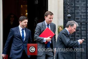 Oliver Letwin, From Left, Stephen Crabb Mp and Greg Hands Mp