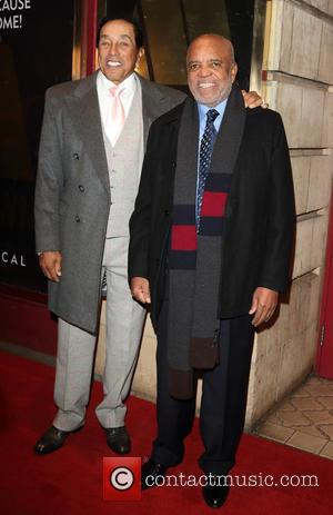 Berry Gordy and Smokey Robinson