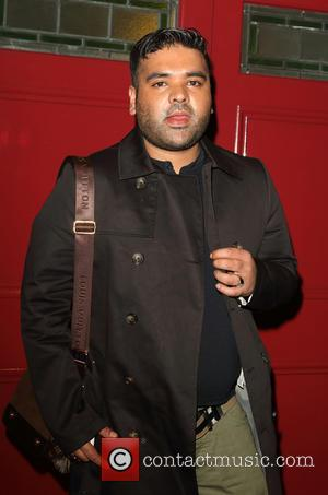 Naughty Boy - 'Motown the Musical' West end premiere at the Shaftesbury Theatre at Shaftesbury Theatre - London, United Kingdom...