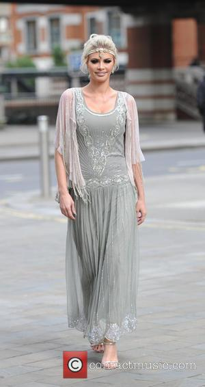 Chloe Sims - TOWIE cast arrive in costume for the filming of 'The Great Gatsby' in London - London, United...