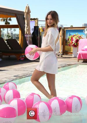 Behati Prinsloo - Victoria's Secret Swim launch with Behati Prinsloo at SLS Hotel, Victoria's Secret - Beverly Hills, California, United...