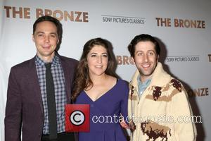 Jim Parsons, Mayim Bialik and Simon Helberg