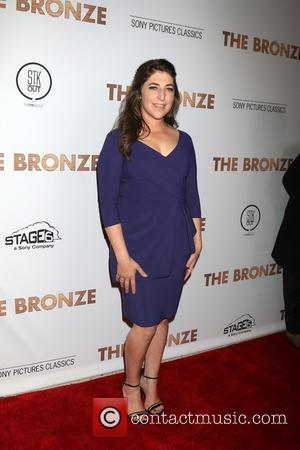 Mayim Bialik - The Bronze Premiere at the SilverScreen Theater at the Pacific Design Center on March 7, 2016 in...