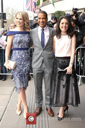 Charlotte Hawkins, Sean Fletcher and Laura Tobin
