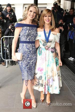 Kate Garraway and Charlotte Hawkins