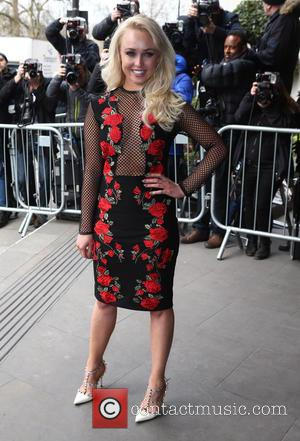 Jorgie Porter - TRIC Awards 2016 held at Grosvenor House - Arrivals at Grosvenor House - London, United Kingdom -...