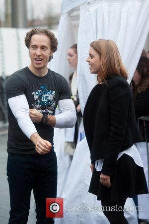 Princess Beatrice and Craig Kielburger