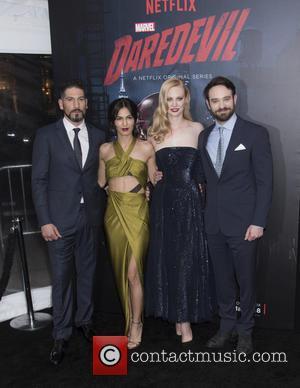 Jon Bernthal, Elodie Yung, Deborah Ann Woll and Charlie Cox