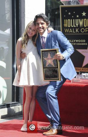 Brighton Sharbino and Eugenio Derbez