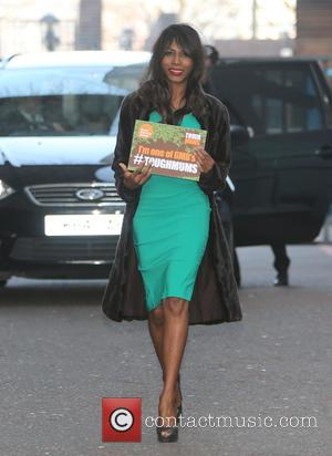 Sinitta - Sinitta outside ITV Studios today - London, United Kingdom - Friday 11th March 2016