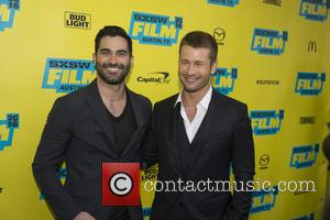 Tyler Hoechlin and Glen Powell