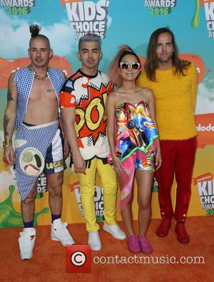 Cole Whittle, Joe Jonas, Jinjoo Lee and Jack Lawless