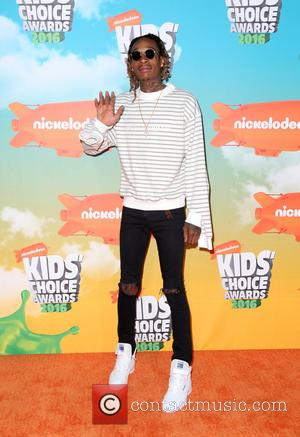 Wiz Khalifa - Nickelodeon Kids' Choice Awards 2016 - Arrivals at The Forum, Nickelodeon Kids' Choice Awards - Inglewood, California,...
