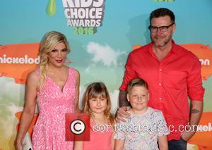 Tori Spelling, Stella Doreen Mcdermott, Liam Aaron Mcdermott and Dean Mcdermott