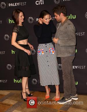 Chyler Leigh, Melissa Benoist and Jeremy Jordan
