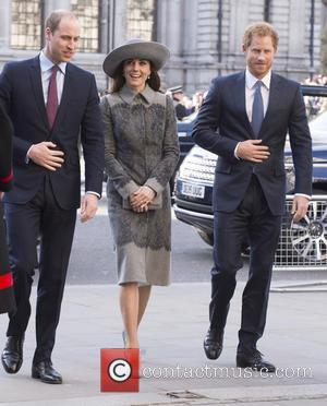 Duke Of Edinburgh, Duchess Of Cambridge and Prince Harry