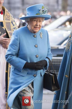 HRH Queen Elizabeth II - Members of the Royal family attend a service at Westminster Abbey to celebrate Commonwealth day....