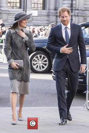 Duchess Of Cambridge and Prince Harry