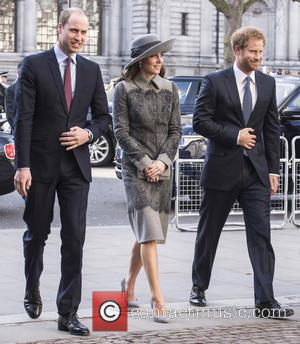 Duke Of Cambridge, Duchess Of Cambridge and Prince Harry