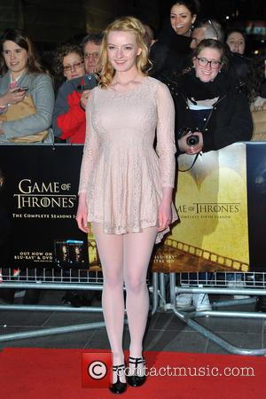 Dakota Blue Richards - Game of Thrones: Hardhome - special screening at the Empire, Leicester Square in London, England. 14...