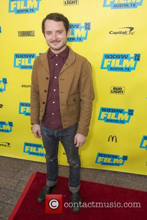 Elijah Wood - Red carpet arrivals for SXSW Premiere of the film The Trust at Paramount Theater - Austin, Texas,...