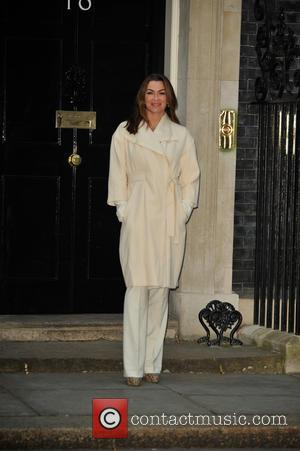 Suzi Perry - Prime Minister David Cameron hosts a Sports Relief reception at No 10 Downing Street at Downing Street...