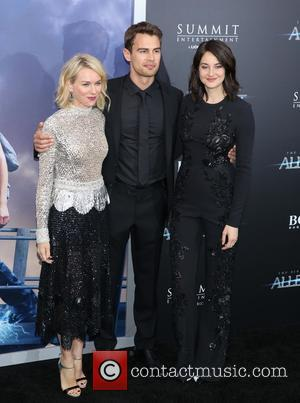 Naomi Watts, Theo James and Shailene Woodley