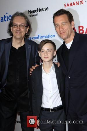 Bob Nelson, Jaeden Lieberher and Clive Owen